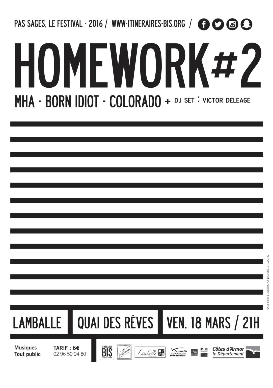 Homework #1 - Affiche