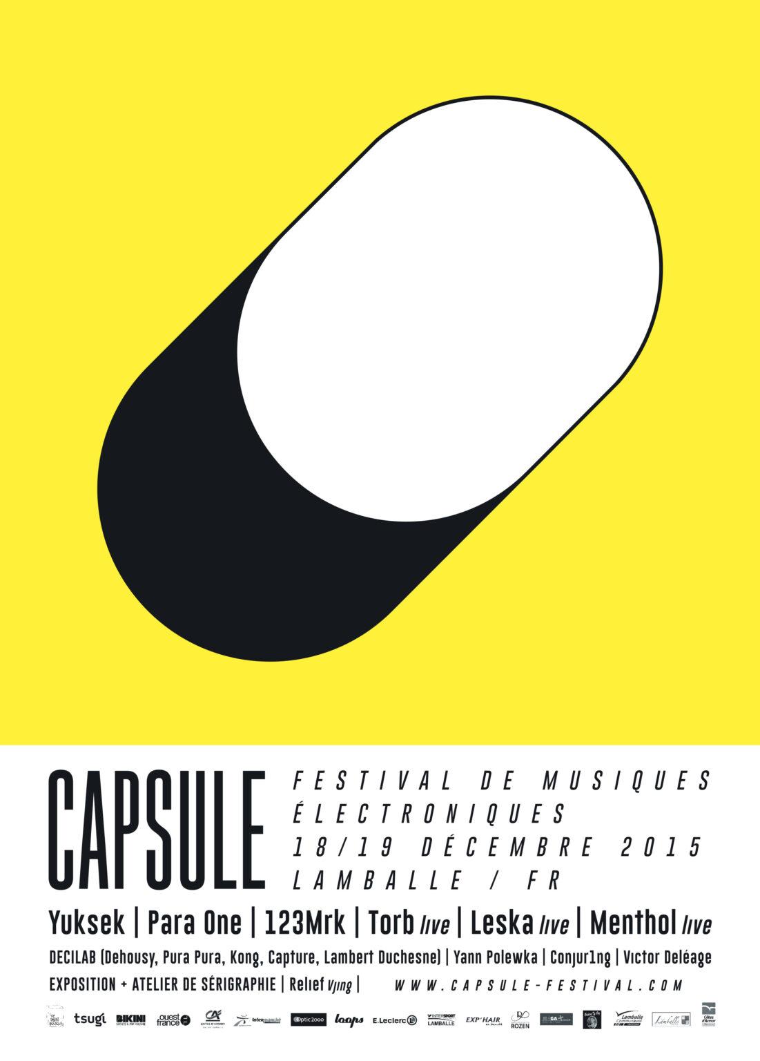 Capsule Fest. 2015 - Affiche