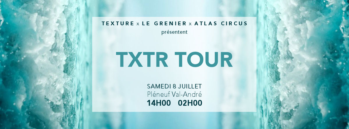 TXTR TOUR | Visuel